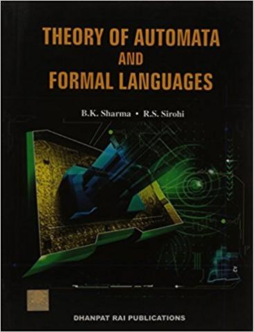 Theory of Automata and Formal Languages