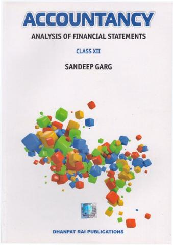 Analysis of Financial Statements for Class XII