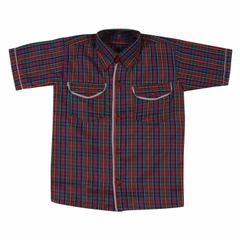 DAV Half Sleeves check Shirt