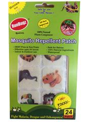 ANTI MOSQUITO MULTI COLOR PATCH 24 PC
