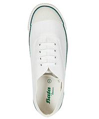 Bata White Tennis School Shoes