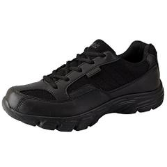 Bata Black Glance Sports School Shoes