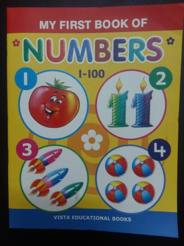 My First Book Of Numbers 1-100