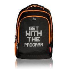 Harissons Mark GWTP Black & Orange Backpack