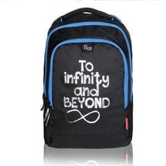 Harissons Mark TIAB Black & Blue Backpack