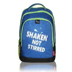 Harissons Mark SNS Blue & Green Backpack