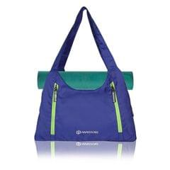 Harissons Regalia Blue & Green yoga/Gym/Beach Tote Bag