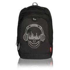 Harissons Mark Skull Black Backpack