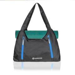 Harissons Regalia Black & Blue yoga/Gym/Beach Tote Bag