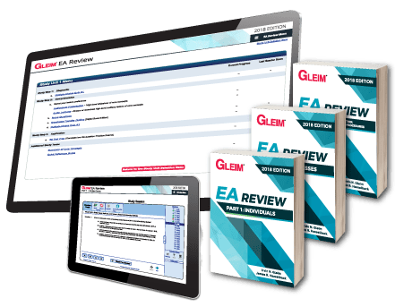 Gleim EA Traditional Review System (Part 1, 2 & 3)