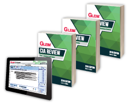 Gleim CIA Books & Test Prep (Part 1, 2 & 3)