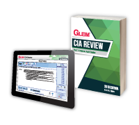 Gleim CIA Books & Test Prep - Part 1