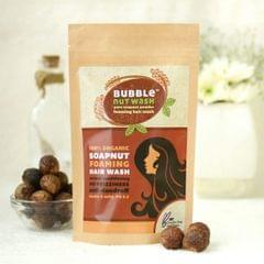BubbleNut Wash – Foaming Hair Wash Powder (100gms)