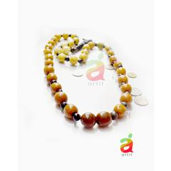 BEADED TERRACOTTA NECKLACE