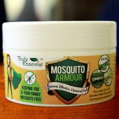 Mosquito Armour gel - Aloe vera gel blended with Citronella and Lemongrass essential oils