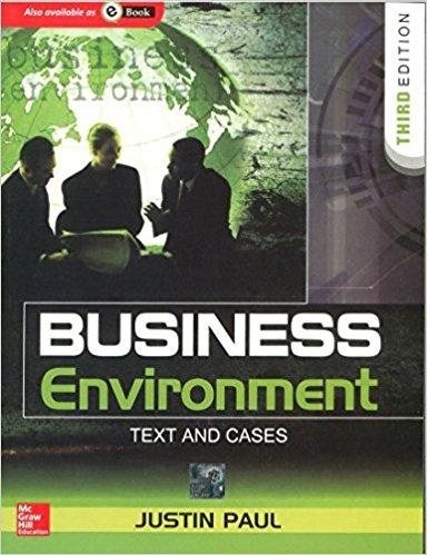 Business Environment Text and Cases