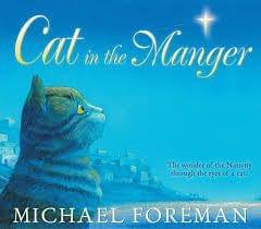Cat in the Manger