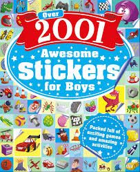 Over 2001 Awesome Stickers for Boys