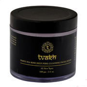 White Tea Rose Deep Pore Cleansing Scrub - 100 gms