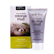 Rotorua Mud Face Mask with Aloe Vera & Cucumber 80 ml