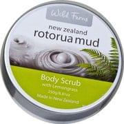 Rotorua Mud Lemongrass Body Scrub - 250 gms