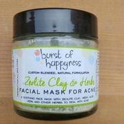 Zeolite Clay & Herbs Mask for Acne Prone Skin