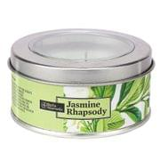 Jasmine Rhapsody Tin Candle