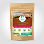 Organic Oatmeal - 200 gm