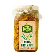 Adrak Hari Mirch Pickle - 400 gms