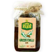 Green Chilli Gur Pickle - 400 gms