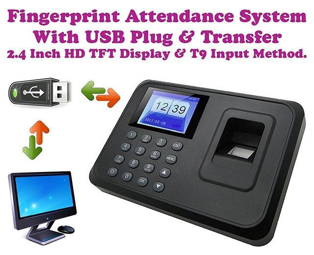ZeeTeck Biometric Time Attendance Machine System