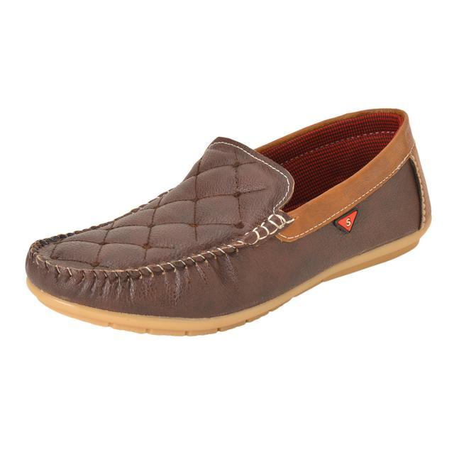 Gillie Men's Loafers (Dark Brown)