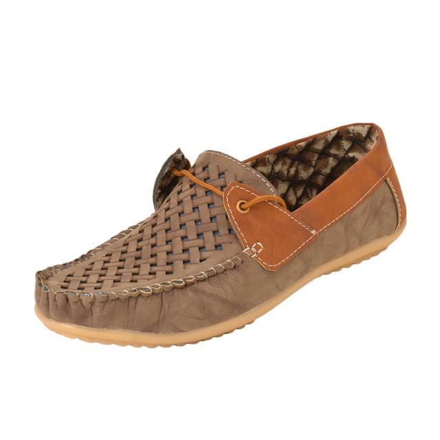 Gillie Men's Loafers (Medium Brown)