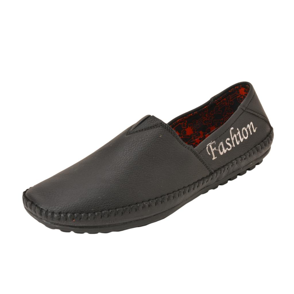 Gillie Men's Fashion Loafers (Black)