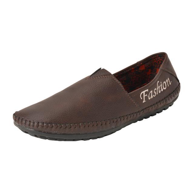 Gillie Men's Fashion Loafers (Dark Brown)