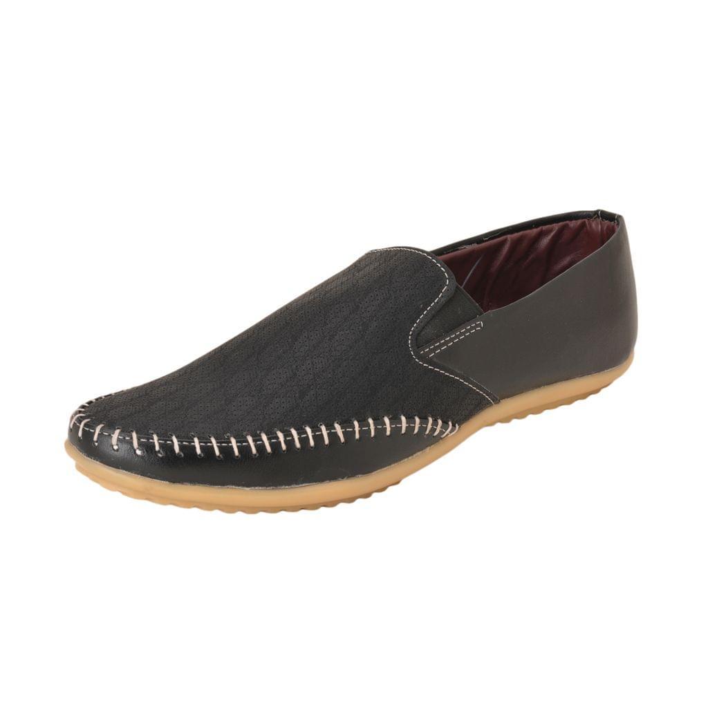 Gillie Men's Rajwadi style shoes (Black)
