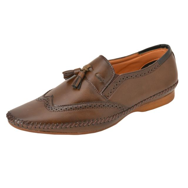 Gillie Men's Casual and Formal shoes (Brown)
