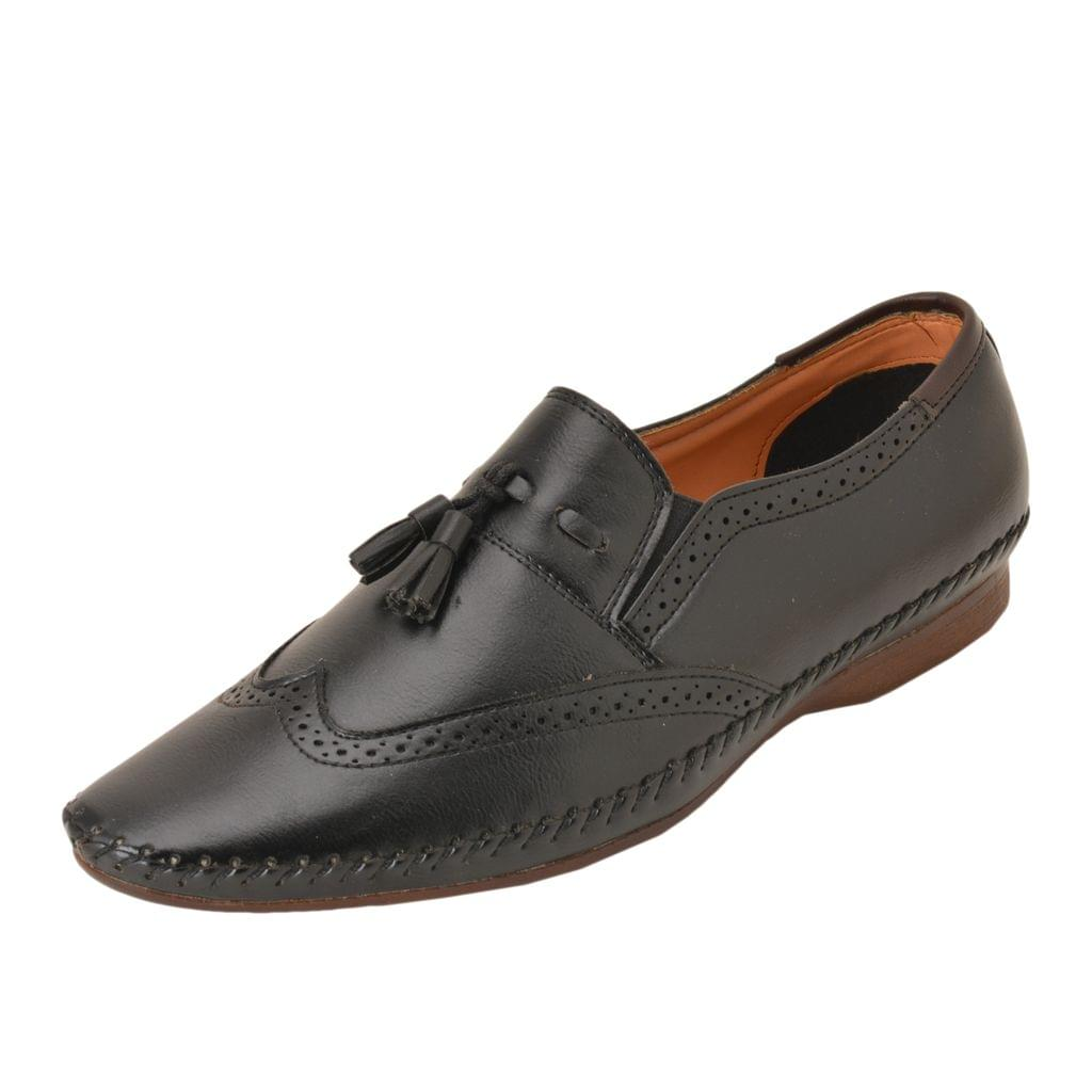 Gillie Men's Casual and Formal shoes (Black)