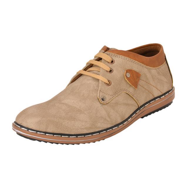 Gillie Men's Casual Shoes (Grey)