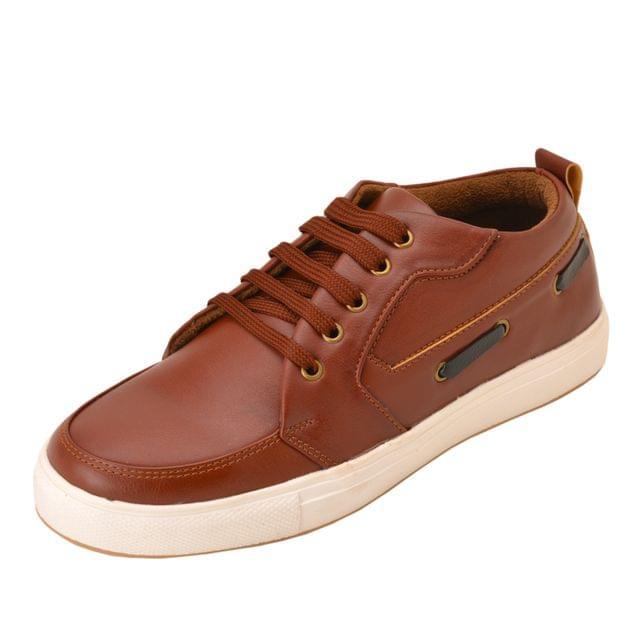 Gillie Men's Sneakers (Dark Tan)