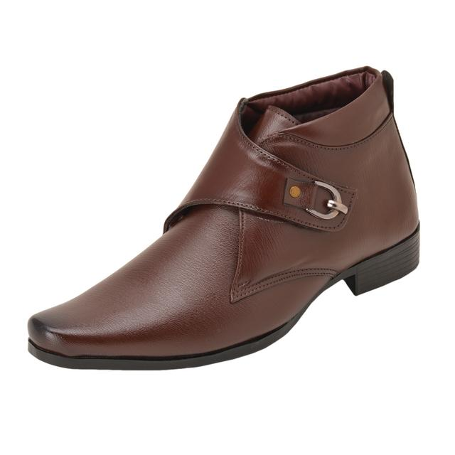 Gillie Men's Shoes (Brown)