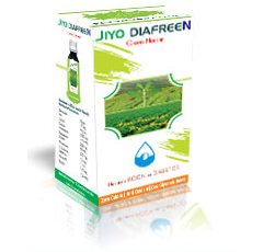 Jiyo Diafreen Green Nectar Make Diabetic Free Society
