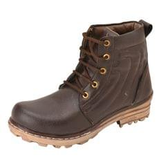 Gillie Men's Ankle boots (Brown)