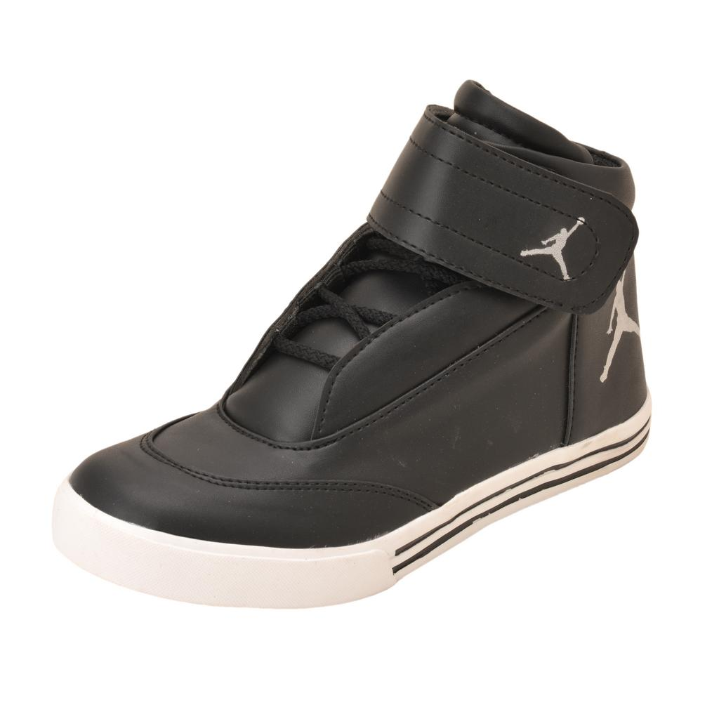 Gillie Men's Ankle Casual Shoes (Black)