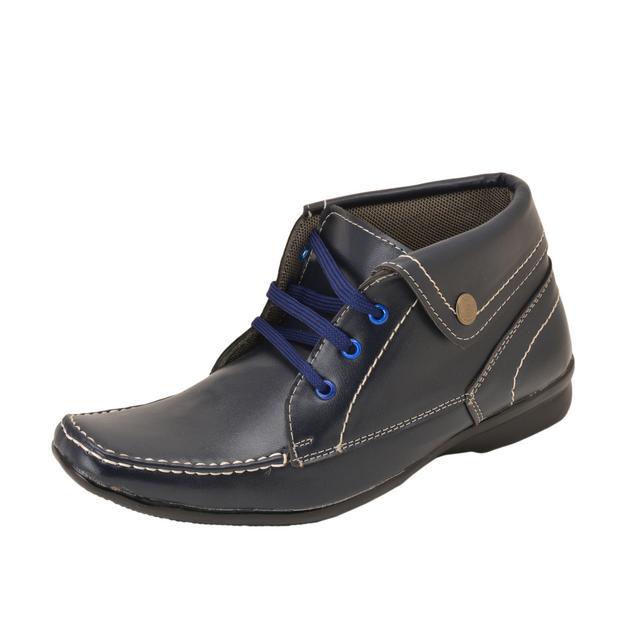Gillie Men's Ankle Boots (Dark Blue)