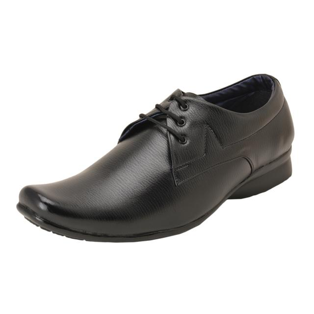 Gillie Men's Formal Shoes (Black)