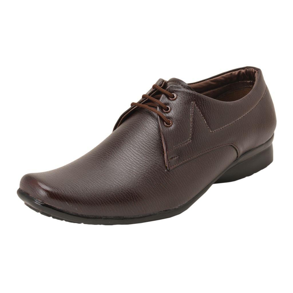 Gillie Men's Formal Shoes (Brown)