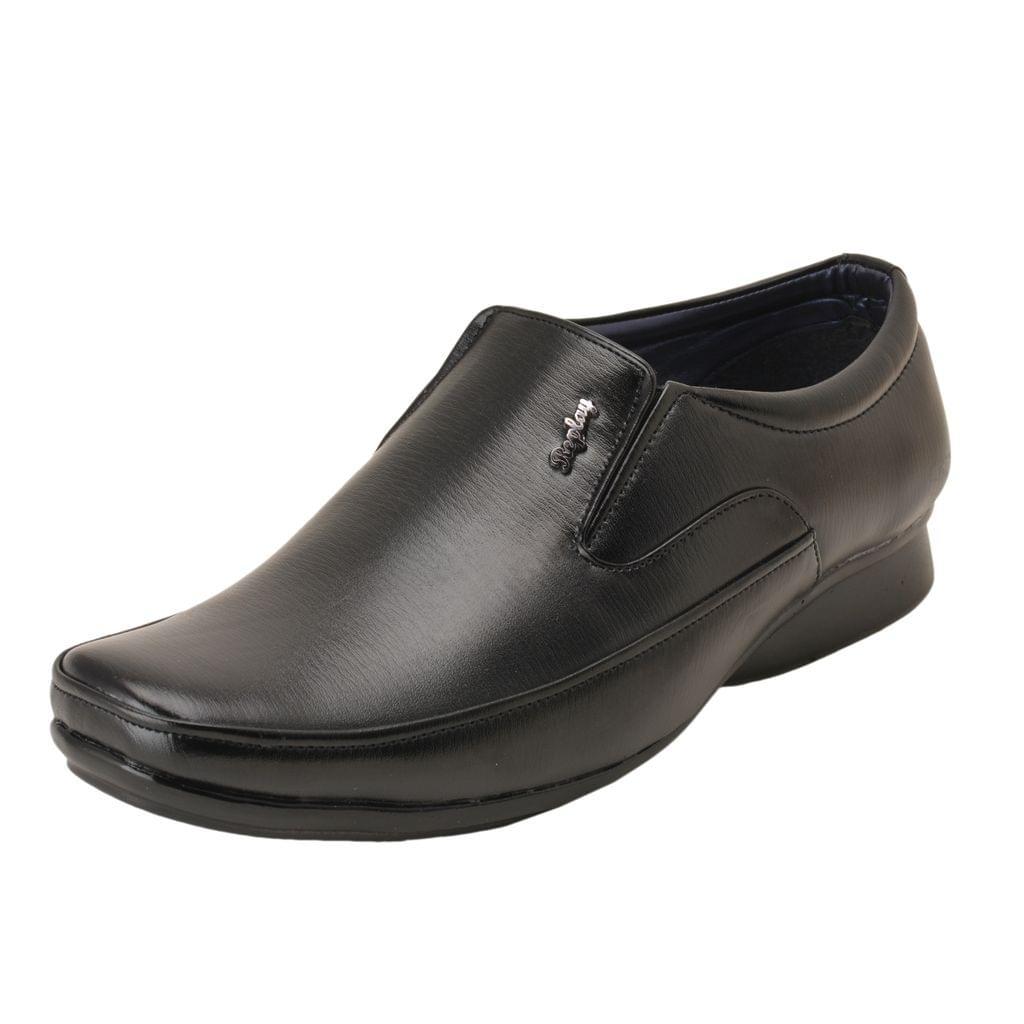 Gillie Men's Formal Shoes (Black)