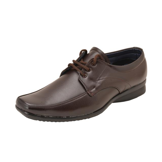 Gillie Men's Formal Shoes (Brown)