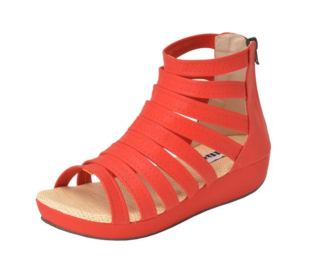 Gillie Women's Gladiators Sandels (Red)